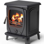 aoife matt black solid fuel