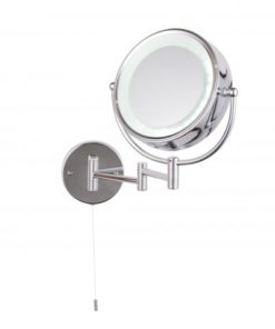 Apus LED Round Magnifying Lighted Mirror